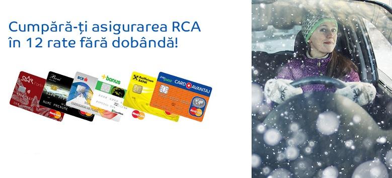 asigurare RCA in rate
