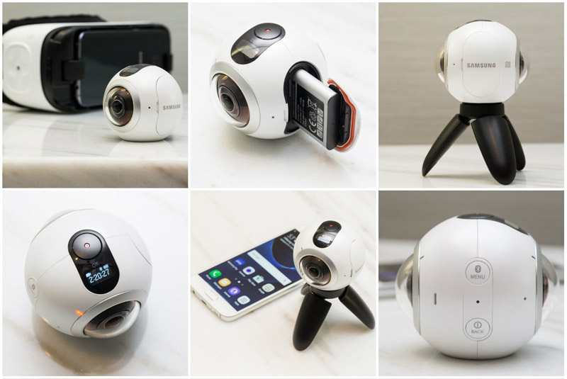 camera foto si video Samsung Gear 360