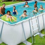 piscine supraterane cu cadru metalic