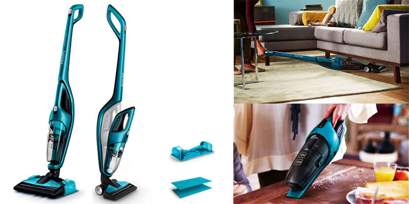 Review Aspirator Vertical si Mop Philips FC6404 Pret si Pareri.