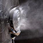 ventilator cu vapori de apa