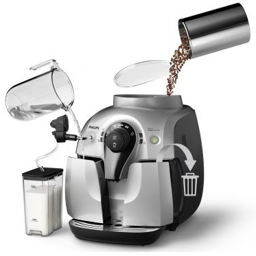 Espressor super-automat Philips HD8652/59