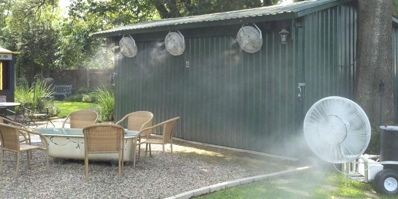 sistem pulverizare apa pentru terase