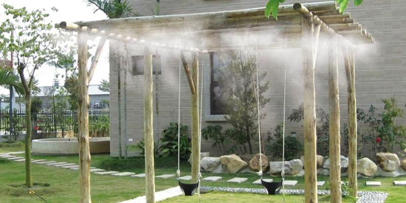 sistem racire terasa cu ceata