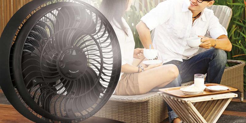 ventilator cu apa interior
