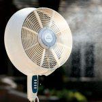 ventilator cu pulverizare apa