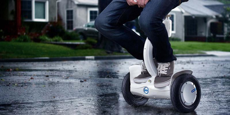 scuter electric in ploaie