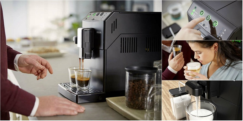 Espressor automat cu Rasnita Philips HD8829 review
